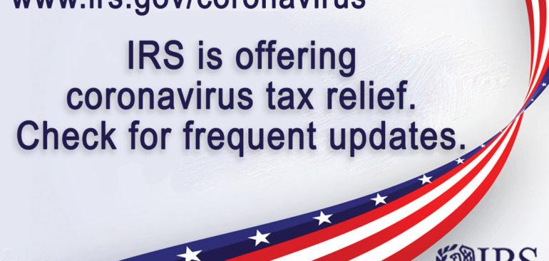 IRS CORONAVIRUS