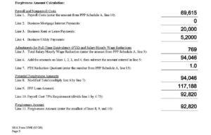 Loan Forgiveness Application
